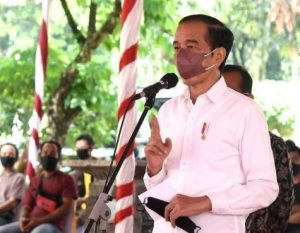 Presiden Joko Widodo (Foto @jokowi)