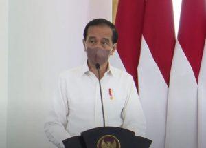 Presiden Joko Widodo (tangkapan layar youtube)
